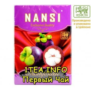 Чай НАНСИ NANSI черный с Мангустином 100гр