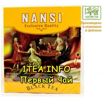 Чай чёрный НАНСИ NANSI цейлонский BOPF 100пак