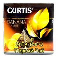Чай Кертис Curtis Banana Flambe 20 пирамидок
