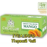 Чай Creatlur Манго Premium Green Tea 25 пакетиков