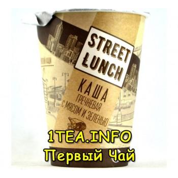 Street Lunch Каша гречневая с мясом и зеленью в стакане 50гр