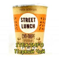 Street Lunch Суп-пюре гороховый с грибами в стакане 50гр