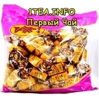 Конфеты Рахат Грильяж в шоколаде фруктовый в ассортименте 1кг
