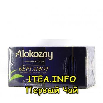 Алокозай черный с бергамотом 25 пакетиков