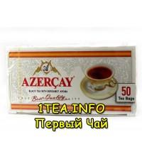 Чай Азерчай с бергамотом чёрный 50 пак.