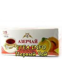 Чай Азерчай чёрный Апельсин 25 пак.