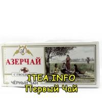 Чай Азерчай чёрный с гвоздикой 25 пак.