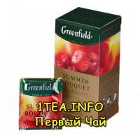 Greenfield Summer Bouquet ГРИНФИЛД Самма Букет 25 пакетиков