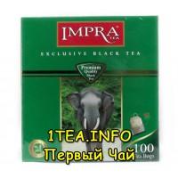 Чай IMPRA Зелёная серия 100пак