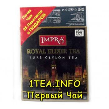 Чай IMPRA Королевский Эликсир бергамот 100пак