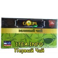Чай Савера зеленый 25 пакетиков