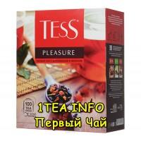 Tess Pleasure ТЕСС Плэжа черный с добавками 100 пакетиков