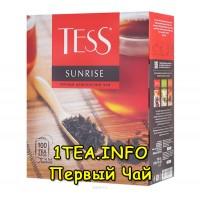 Tess Sunrise ТЕСС Санрайз черный 100 пакетиков