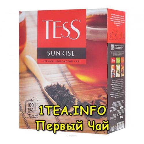 чай тесс 100 пакетиков