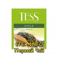 Tess Style ТЕСС Стайл зеленый для сегмента HoReCa 100 пакетиков