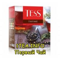 Tess Thyme ТЕСС Тайм черный с добавками 100 пакетиков