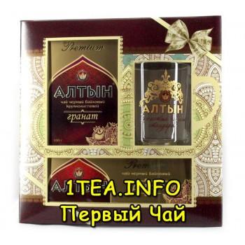 Алтын Гранат набор чая с кружкой