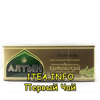 Чай Алтын Китайский зеленый 25 пакетиков