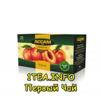 Чай Ассам персик 25 пакетиков