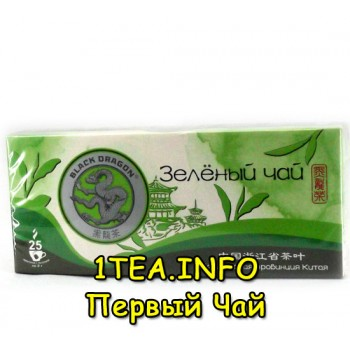 Чай Чёрный дракон зелёный 25пак