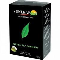 Чай Санлиф Sunleaf зелёный листовой с саусепом 250гр